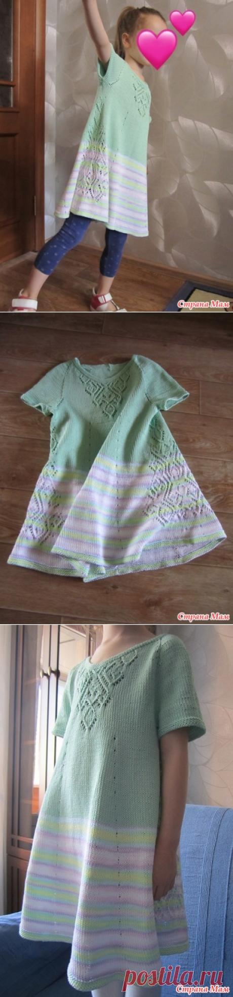 платье Лесная песня от elissiya - Вязание спицами - Страна Мам