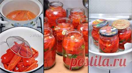Болгарский перец на зиму по-армянски - Очень вкусно