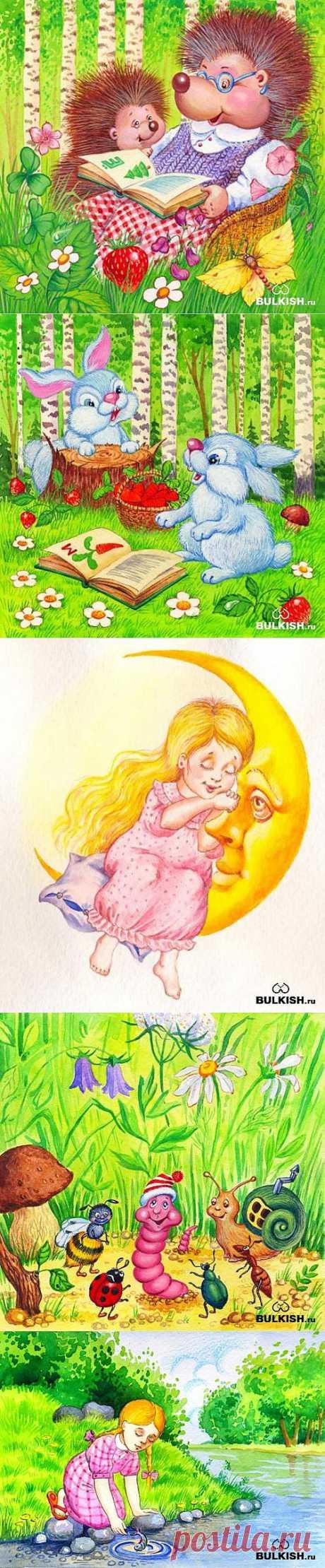 Детские сказочные иллюстрации от Скрипниченко Киры » NIFIGA-SEBE.RU - фотографии, клипарты, вектор, картинки и шаблоны