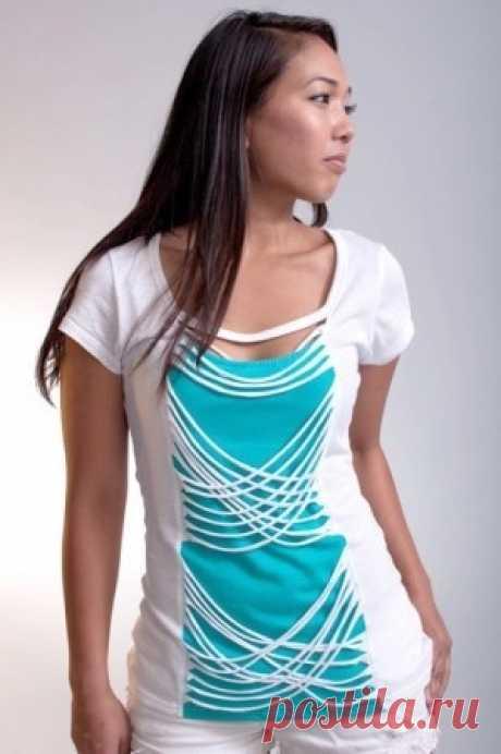 Las ideas de los rehacimientos de dos cosas en una \/ las Camisetas DIY \/ la SEGUNDA CALLE