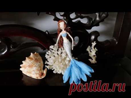ABC TV | How To Make A Little Mermaid Ariel Fairy Doll From Crepe Paper - Craft Tutorial