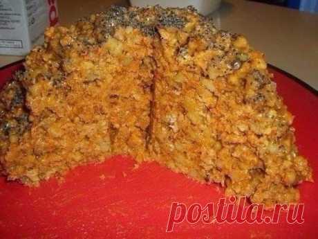 Как приготовить торт муравейник из печенья - рецепт, ингредиенты и фотографии