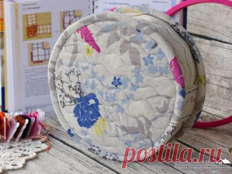 Комнатка с мансардой / Little room in the attic: Круглый органайзер для вышивальщицы / Round organizer for needlewoman