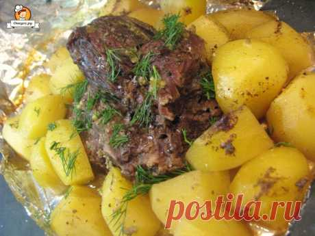 Новогодний рецепт: Сочная свинина с картофелем в фольге - Простые рецепты Овкусе.ру