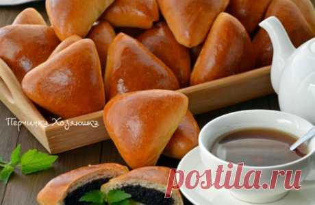 Пирожки с сладкой маковой начинкой - Vypechka.Perchinka-kHozyayushka.ru