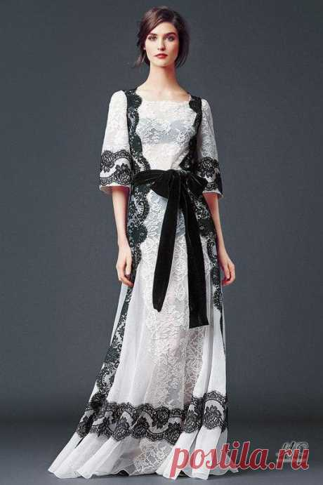 Черно-белая коллекция Dolce & Gabbana! — Модно / Nemodno