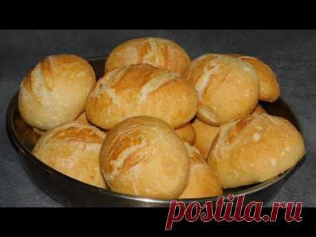 Немецкие/Германские БУЛОЧКИ НА ЗАВТРАК как в пекарни!)