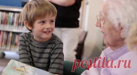 ВСША объединили детский сад идом престарелых. Результат превзошёл все ожидания