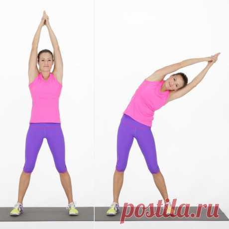 Упражнения стабильно и быстро уберут лишний жир на животе, спине и талии. Подойдут для женщин 45+. | Параллельные миры | Яндекс Дзен