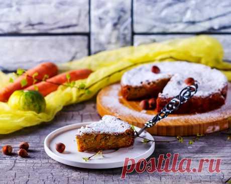 Морковно-яблочный пирог | Еда от ШефМаркет | Яндекс Дзен