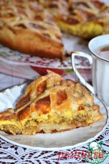 Onions Chippolino pie - the culinary recipe