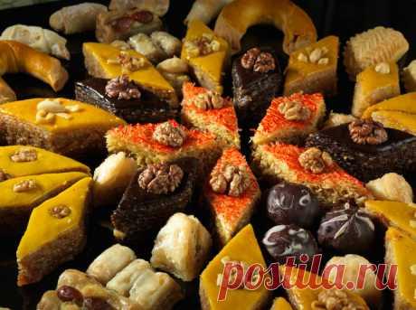 Самые популярные восточные сладости. | Colors.life