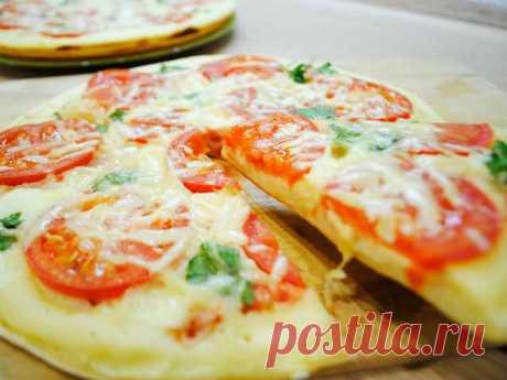 Пицца на сковороде за 10 минут: 5 рецептов   Вкусные рецепты
