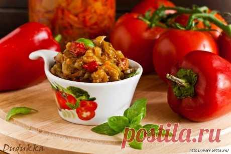 Рецепты овощной икры