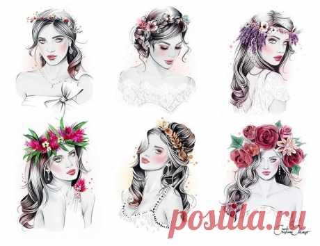Испанский иллюстратор Кристина Алонсо (Cristina Alonso)