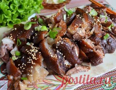 """Рулька по-корейски """"Чокпаль"""" – кулинарный рецепт"""