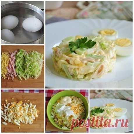 Салат «Неженка» — Sloosh – кулинарные рецепты