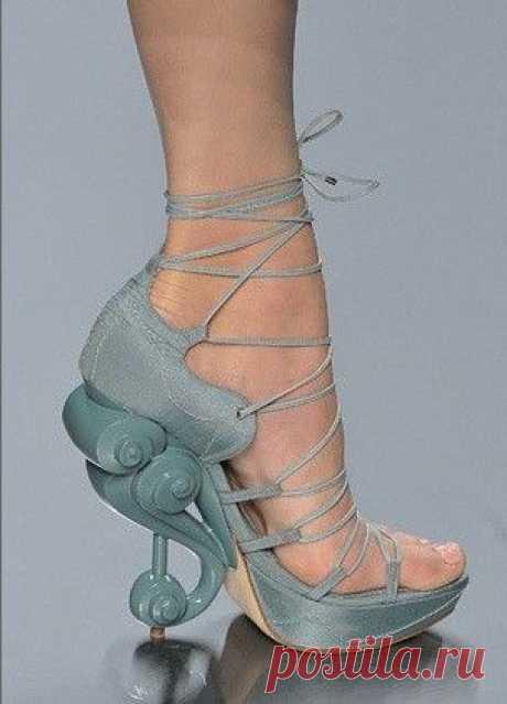 Необычные каблуки