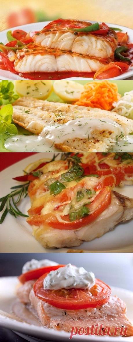 Топ-5 рыбных рецептов.