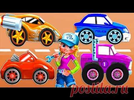 МАШИНКИ ДЛЯ ДЕТЕЙ 40 минут. Мультфильмы про машины. Про машинки для детей. Игры машины онлайн.