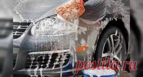 Снизу вверх и никак иначе: почему машину моют только в таком порядке