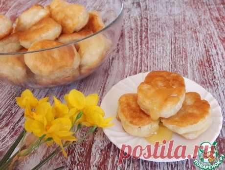Дрожжевые оладьи без молока и яиц – вариант рецепта