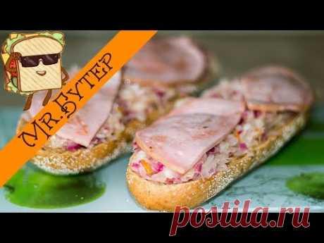 Бутерброды по-русски с квашеной капустой - Простые рецепты Овкусе.ру
