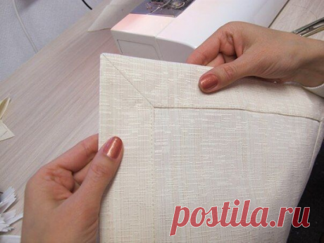 Красивые и правильные уголки. Мастер-класс   #шитье #выкройки #кройка #идеи #моделирование #урокишитья #sewing #patterns #рукоделие #handmade #sewinglessons