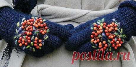 Перчатки и варежки / ВТОРАЯ УЛИЦА - Выкройки, мода и современное рукоделие и DIY