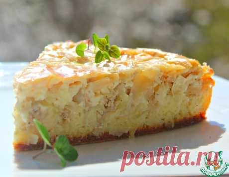 Пирог с курицей и капустой – кулинарный рецепт
