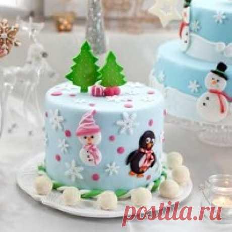 Новогодние торты - 27 рецептов | Подборка рецептов на koolinar.ru