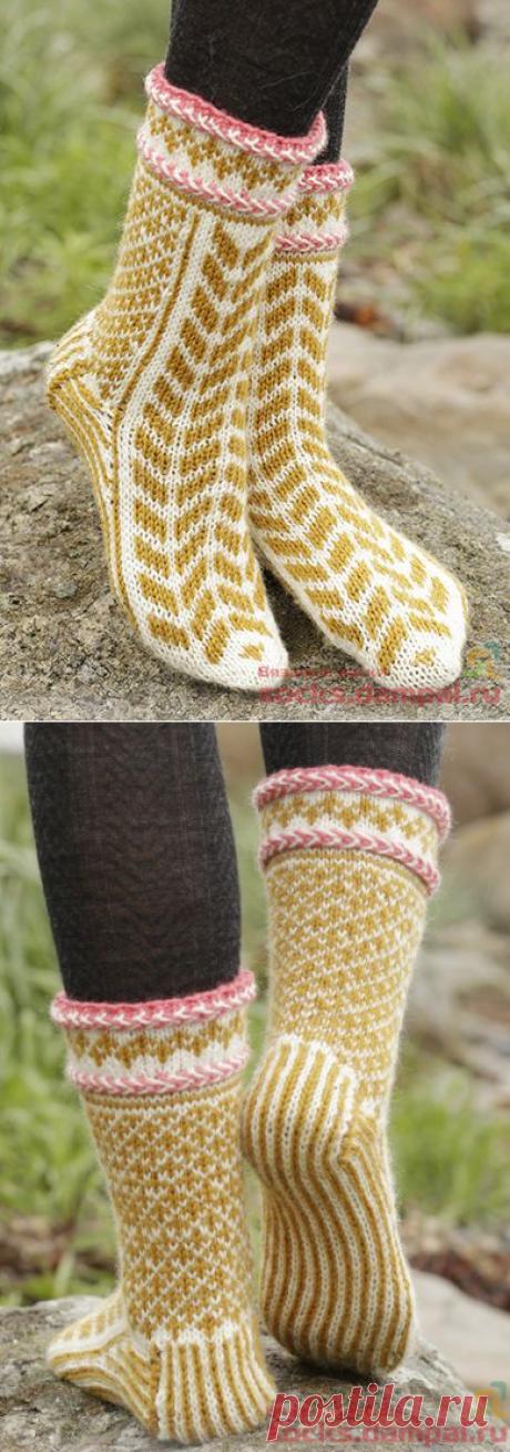 Вязаные носки и варежки «Hokey Pokey»   ВЯЗАНЫЕ НОСКИ