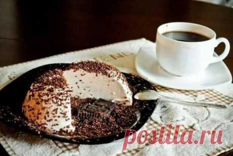Диетическое суфле с горьким шоколадом