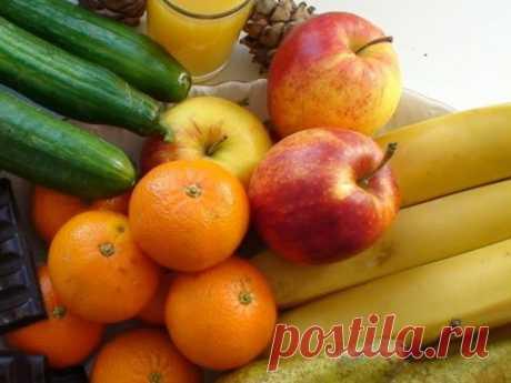 Учимся выбирать полезные и вкусные овощи и фрукты - Я ЗДОРОВ! - медиаплатформа МирТесен