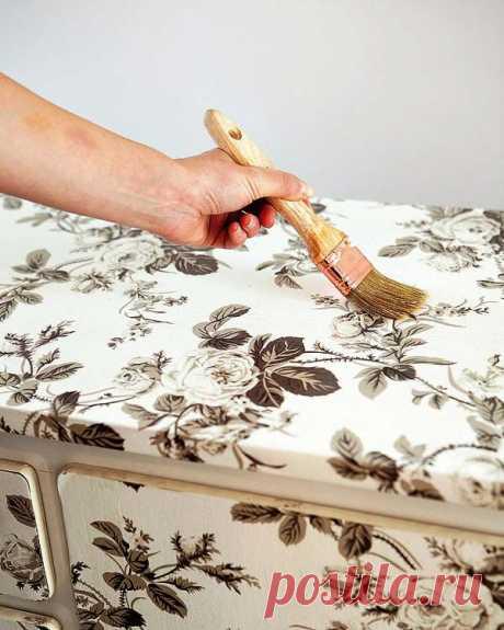 Как с помощью декупажа превратить обычную мебель в эксклюзив