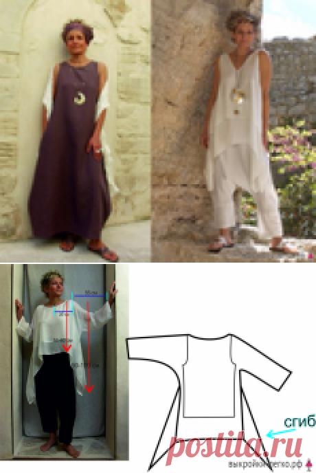 Шьем три стильных и легких в исполнении модели от дизайнера AMALTHEE!
