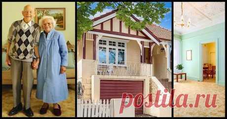Šie vecīši pārdeva māju, kurā bija nodzīvojuši 78 gadus! Pircēji bučoja viņiem kājas... -Amizanti.lv