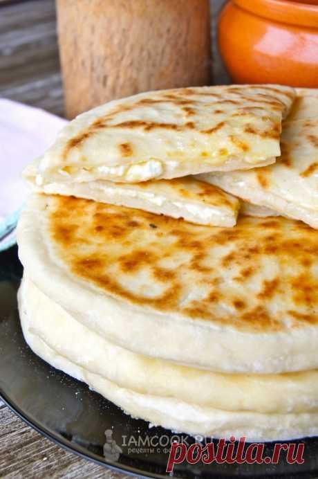 Хачапури с творогом и сыром на кефире — рецепт с фото и видео