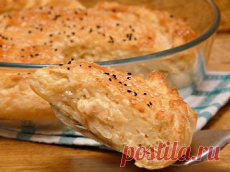 Пирог с луком и яйцом: рецепт с фото пошагово в духовке