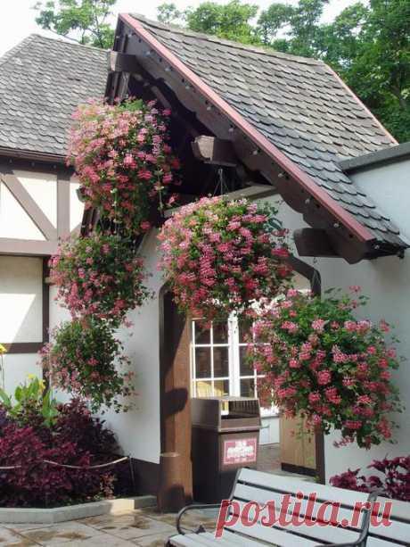 Подвесные цветочные шары