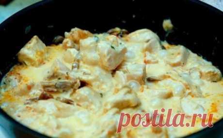 Куриное филе в сырном соусе | Четыре вкуса