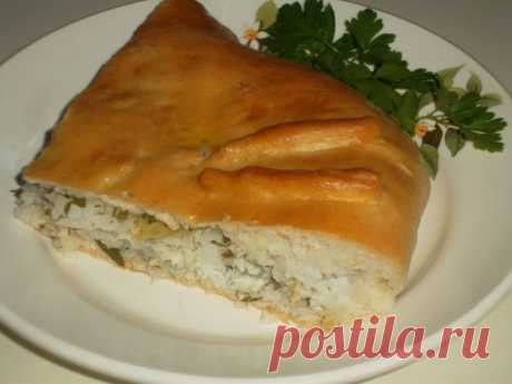El pastel de pez - poshagovyy la receta de la foto - como preparar, los ingredientes, la composición, el tiempo de la preparación - la Dama Mail.Ru