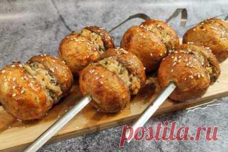 Грибы с мясом круче чем шашлык | Вкусные кулинарные рецепты Грибы с мясом круче чем шашлык | Самые вкусные кулинарные рецепты | Новые рецепты с фото и видео на «Kulinarow.ru»