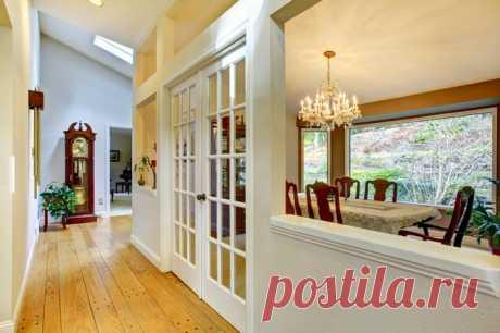 Межкомнатные двери - белый цвет снова в моде! - PRO Недвижимость