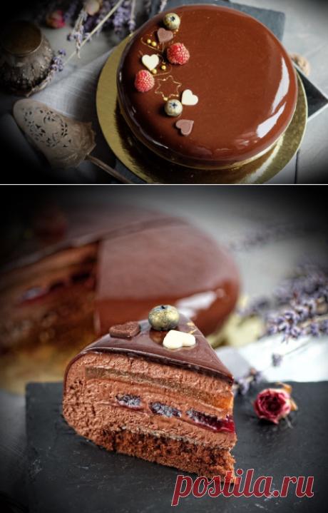 Муссовый шоколадный торт «Meeting point» — Изящество кулинарии