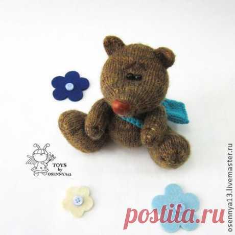 Мишутка почтальон - мишка ручной работы,милый подарок,мишка тедди,мишка в подарок