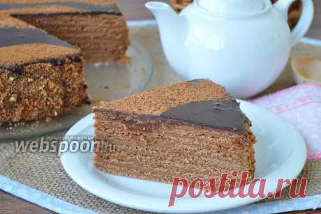 Торт «Шоколадные пески»  Песочный шоколадный торт  Читая рецепты шоколадных тортов которых так много в интернете, иногда приходишь в ступор от того количества шоколада, которое там заявлено. Прикинув, что в общей сложности в тесто и крем уйдёт более половины килограмма качественного шоколада, начинаешь думать, зачем печь торт, лучше съесть натуральный продукт. Но есть много и раритетных рецептов, проверенных и надёжных. Предлагаю вам один из них.  Если бы я не готовила сам...