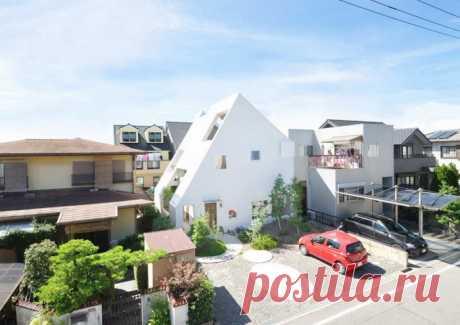 Дом Montblanc в Японии (Интернет-журнал ETODAY)