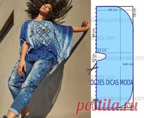 Моделирование экстравагантных блузок для эффектных выходов — Сделай сам, идеи для творчества - DIY Ideas