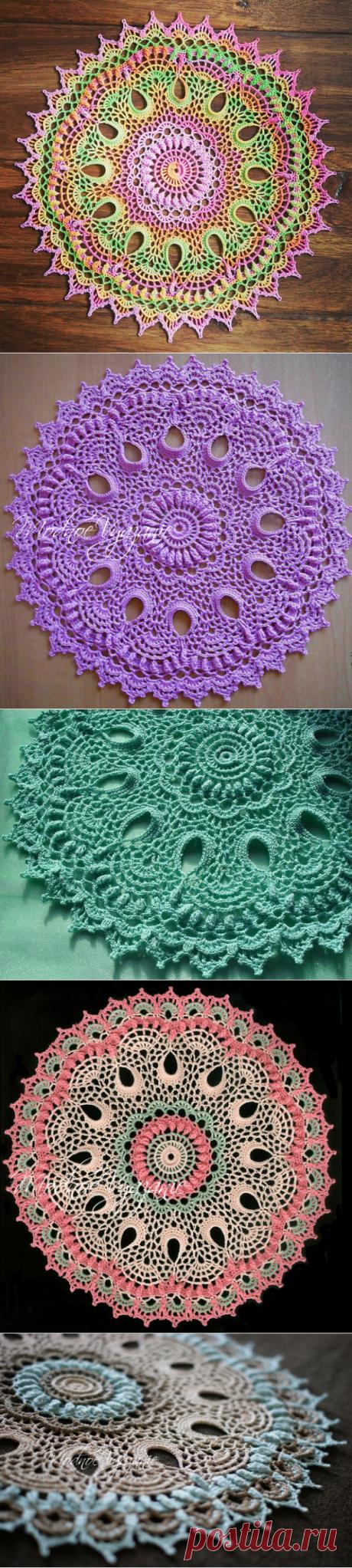 Салфетка *Brenna* - Модное вязание